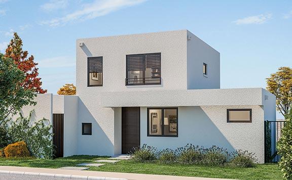 Planta Casa Sicilia - Proyecto