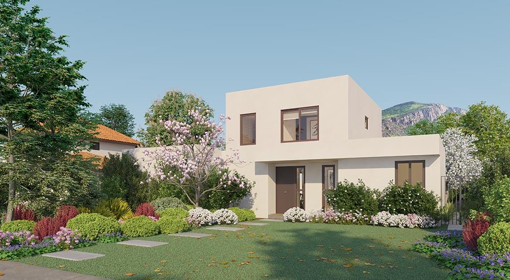 Galería Planta Casa Cordillera II – Mediterráneo