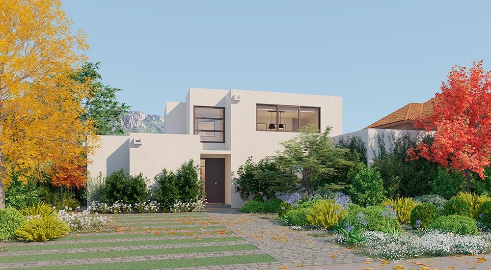 Galería Planta Casa Valle II – Mediterráneo