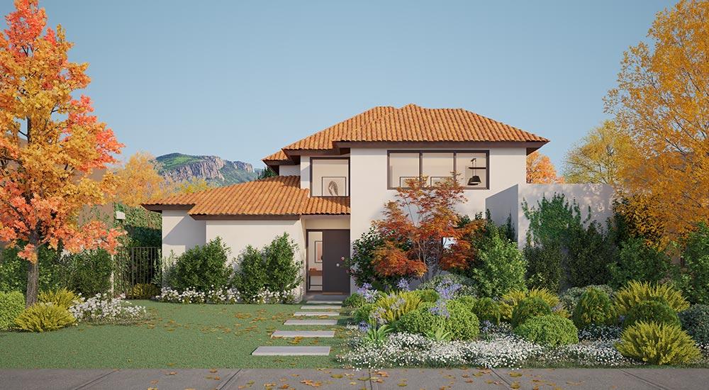 Galería Planta Casa Valle II – Chileno