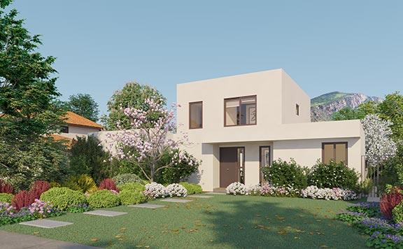 Planta Casa Cordillera II – Mediterráneo - Proyecto