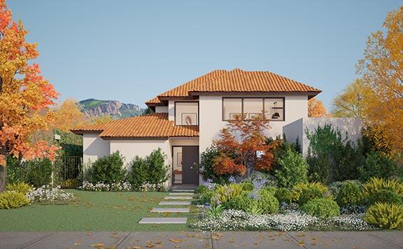 Planta Casa Valle II – Chileno - Proyecto