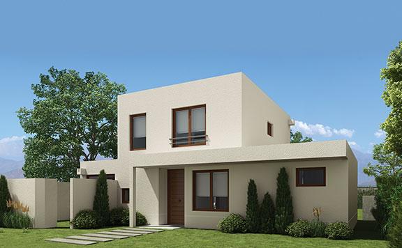 Planta Casa Palermo – Los Queltehues - Proyecto