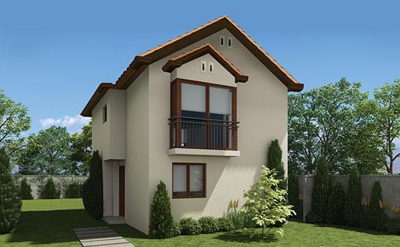 Planta Casa Verona – Los Queltehues - Proyecto