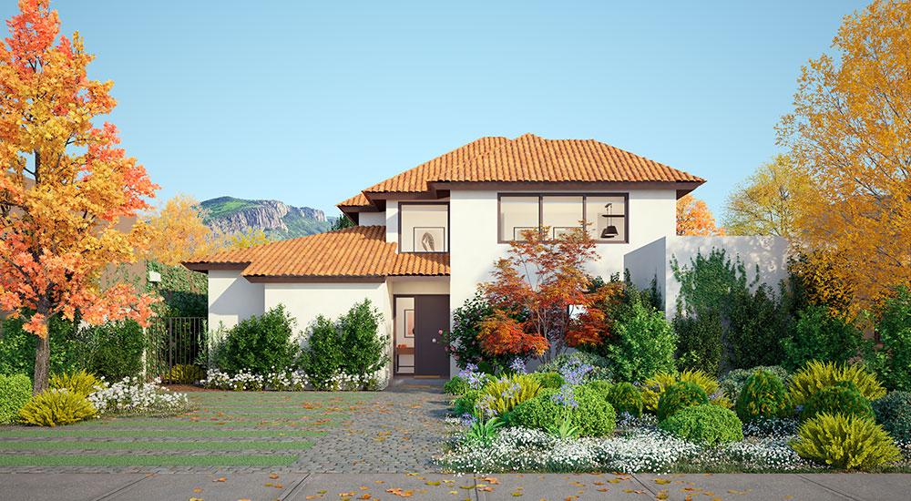 Galería Planta Casa Valle III – Chilena