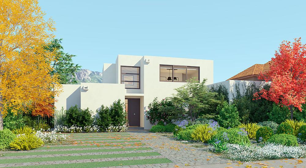 Galería Planta Casa Valle III – Mediterránea