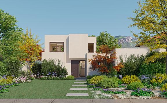 Planta Casa Ribera III – Mediterránea - Proyecto Valle Nogales