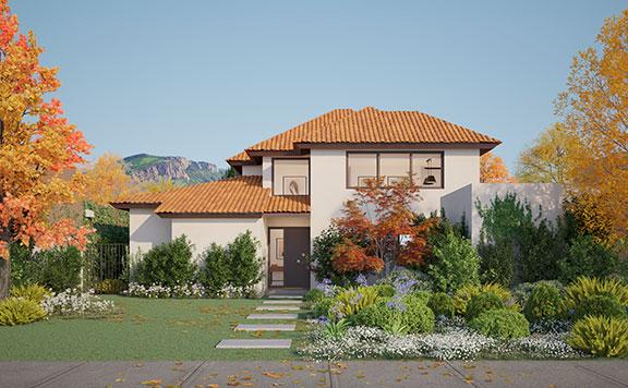 Planta Casa Valle III – Chilena - Proyecto Valle Nogales