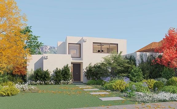 Planta Casa Valle III – Mediterránea - Proyecto Valle Nogales